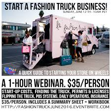 100 Fashion Truck Business Plan Mobile How To Start A Retail