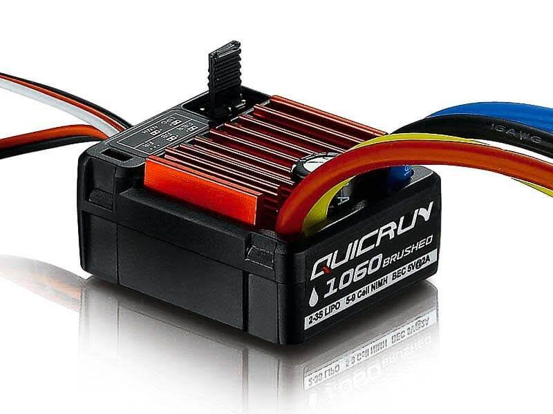 Hobbywing Quicrun 1060 Waterproof Brushed SBEC ESC (60A)