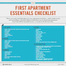 Awesome First Time Apartment Checklist Gallery Decorating