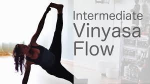 45 Minute Intermediate Vinyasa Flow With Lesley Fightmaster
