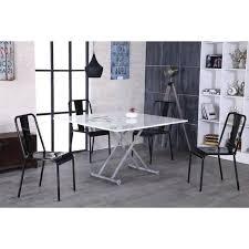 table basse transformable en table à manger 8 personnes