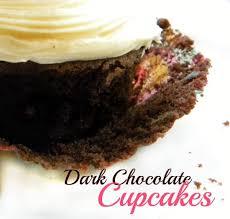 Super Moist Dark Chocolate Cupcakes