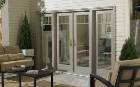 Patio Door Curtain Ideas by Door Design Luxury Brown Fabric Transparent Sliding Glass Door