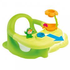 Chaise De Bain B B Gracieux Chaise Pour Bain Bébé Sige Pour Le Bain Cotoons Vert