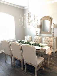 Sherwin Williams Repose Gray French Country Dining Room Paint Color Best Neutral Colors