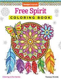 Free Spirit Coloring Book Is Fun Design Originals
