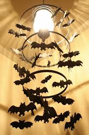 Diy Halloween Decorations Pinterest by Diy Halloween Diy Spooky Bat Chandelier Diy Halloween Decor