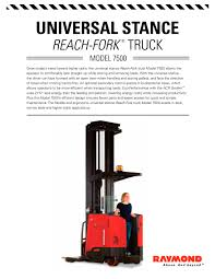 7000 Series Reach-Fork Truck Universal Stance - Raymond - PDF ... Forklift Rentals From Carolina Handling Wikipedia Raymond Cporation Trusted Partners Bastian Solutions Turret Truck 9800 Swingreach Lift Heavy Loads Types Classifications Cerfications Western Materials Raymond Launches Next Generation Of Reachfork Trucks With Electric Pallet Jack Walkie Rider Malin Trucks Jacks Forklifts And Material Nj Clark Dealer Sales Used Duraquip Inc 60c30tt Narrow Aisle Stand Up