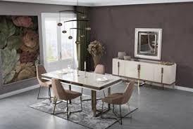 lidya esszimmer set komplett lucca creme bronze günstig