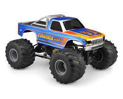 100 Ford Monster Truck JConcepts 1984 F250 Body Clear JCO0306