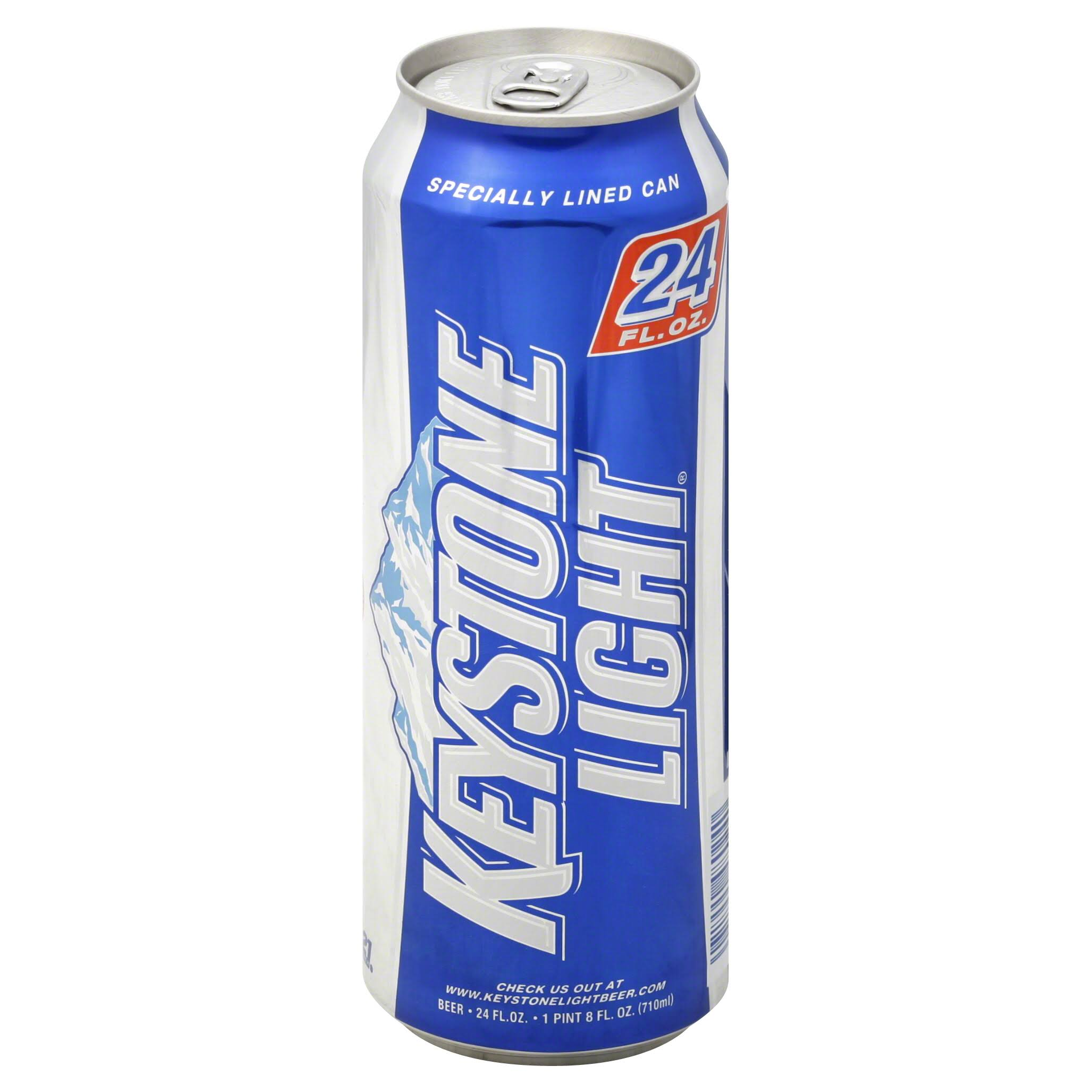 Keystone Light Beer - 24 oz
