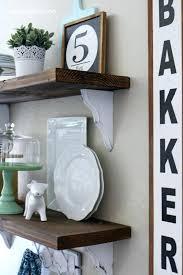 Dining Room Shelves Farmhouse Chic Shelf Decorating Ideas Love Diy Built In