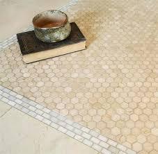 crema marfil hexagon honed mosaic tiles shower bathroom
