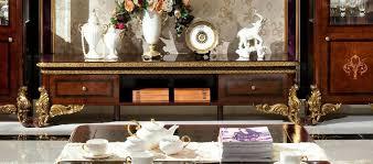 wohnwand vitrine konsole schrankwand glasvitrinen wohnzimmer barock rokoko e63
