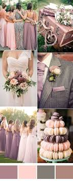 Six Pretty Mauve Wedding Color Combos For All Brides