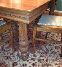 New Chairs To Compliment A 1900 Antique Oak Dining Table