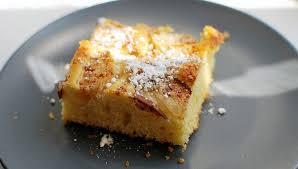 feiner apfel blechkuchen mit birnen