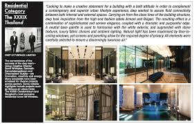 100 Axis Design Group Winning Projects Of Inaugural BCI Asia Interior