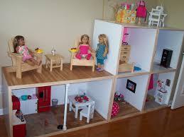 Barbie Living Room Furniture Diy by Gigi U0027s Doll And Craft Creations American Doll House Custom