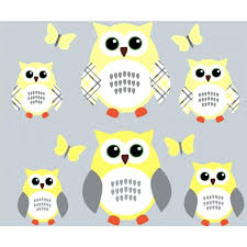 Owl Bedroom Wall Stickers by Wall Ideas Owl Bedroom Wall Stickers Owl Wall Art From Hobby