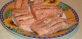cuisson du pavé de saumon au barbecue