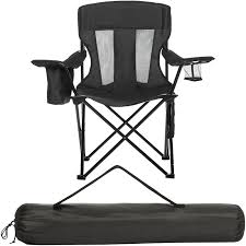 Heavy Duty Camping Chair Mesh Portable F...