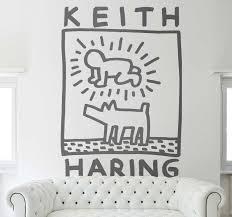 keith haring aufkleber