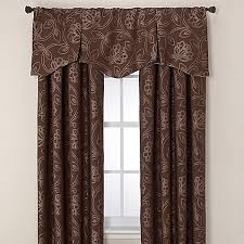 jacobean pleated window valance bed bath beyond