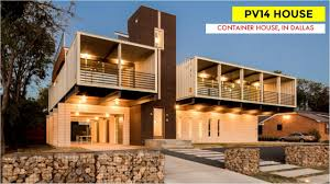 100 Luxury Container House PV14 Shipping Home In Dallas Texas YouTube