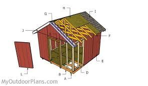 12x12 shed door plans myoutdoorplans free woodworking plans