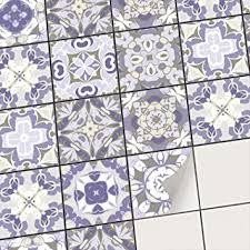 mosaik blau bad küche mosaikfliesen klebefolie fliesen