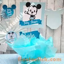 Baby Shower De Mickey Mouse Cuttie ¡Todo Para La Fiesta