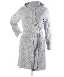 robe de chambre capuche robe de chambre femmes gris enveloppant autour pois à capuche