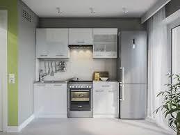 details zu küche martha weißlack 200 cm küchenzeile küchenblock einbauküche komplett küchen