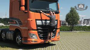 DAF Bockstark – Das Trucker Workout: Truck Step Up - YouTube
