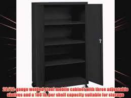 sandusky lee ta3r362460 09 black steel transport mobile storage