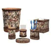 camouflage bathroom décor and sets camo trading