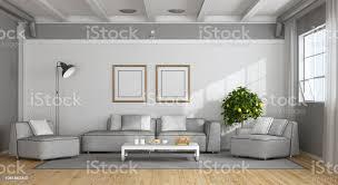 weiße und graue moderne wohnzimmer stockfoto und mehr bilder architektur