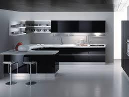 White Black Kitchen Design Ideas by Kitchen Modern Design Interesting Normabudden Com