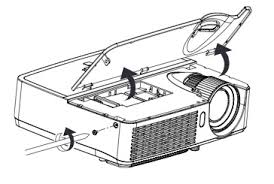 Mitsubishi Projector Lamp Replacement by Infocus In2124 Projector Lamp