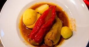 gefüllte paprika ungarischer klassiker mit hackfleisch