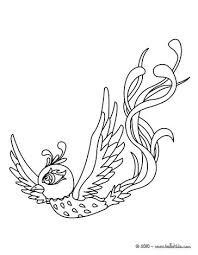 Woodpecker Phoenix Online Coloring