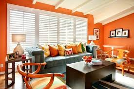 Teal And Orange Living Room Decor by Paprika And Beige Living Room This Exotic Shade Of Orange Adds A