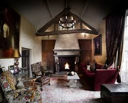 Inspiration For A Large Rustic Formal Enclosed Living Room In Cheshire With Yellow Walls Slate