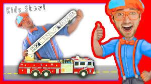 100 Toddler Fire Truck Videos Blippi Toys S For Children FIRE TRUCK SONG Kids YouTube