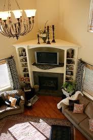 Living Room Layout With Fireplace In Corner by Best 25 Tv In Corner Ideas On Pinterest Corner Tv Corner Tv