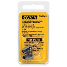 shop dewalt 12 volt xenon flashlight bulb at lowes