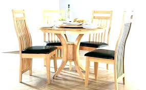 Dining Tables And Chair Sets Wooden Table Set Wood With Black Chairs Round