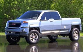 GMC Sierra All Terrain HD Concept - Future Concepts - Truck Trend 2000 Gmc Sierra K2500 Sle Flatbed Pickup Truck Item F6135 02006 Fenders Aftermarket Sierra 4x4 Like Chevy 1500 Pickup Truck 53l Red Youtube Another Tmoney5489 Regular Cab Post Photo 3500hd Crew Db5219 Used C6500 For Sale 2143 Specs And Prices Mbreener Extended Cabshort Bed Photos 002018 Track Xl 3m Pro Side Door Stripe Decals Vinyl Chevrolet 24 Foot Box Cat Diesel Xd Series Xd809 Riot Wheels Chrome