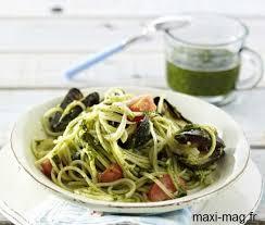 maxi mag fr recettes cuisine recette de linguine aux moules et pesto recettes diététiques
